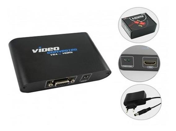 Conversor Vga + Áudio Para Hdmi Chip Sce 075-0841