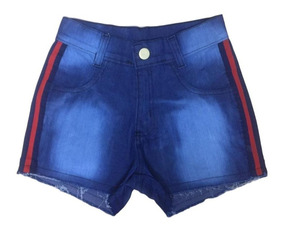 04 Shorts Jeans Feminino Hot Pants Cintura Alta Atacado Top