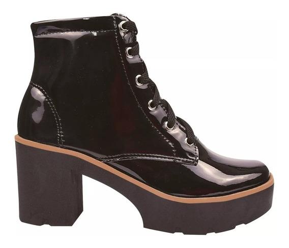 Bota Coturno Sapato Feminino Chiquiteira Chiqui/4073