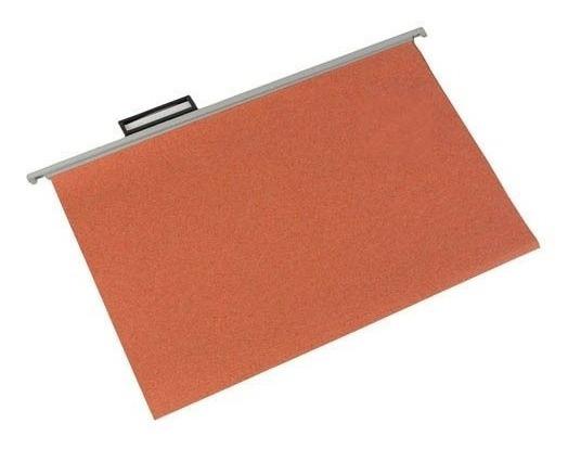 Carpeta Colgante Nepaco Estandar Caja X100 Ladrillo