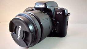 Câmera Nikon F60 + Lente Tamron 28-80mm