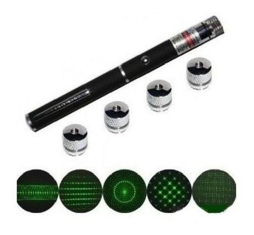 Laser Pointer Canet Apontador Sinalizador 5 Efeito Verde 7km