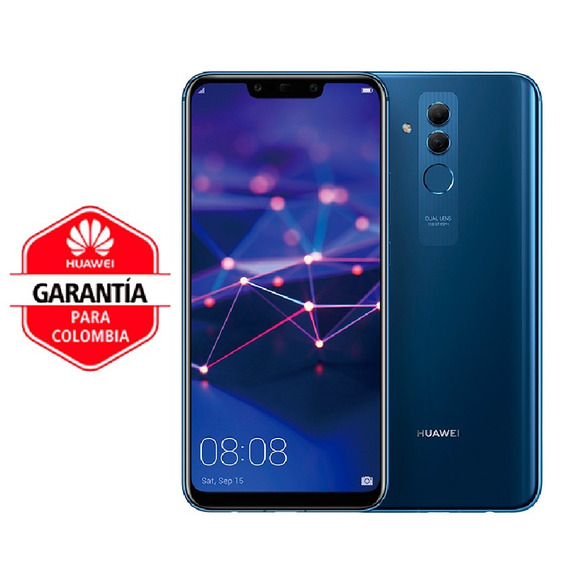 Celular Libre Huawei Mate 20 Lite 4gb Blue Ds 24mp/20mp 4g