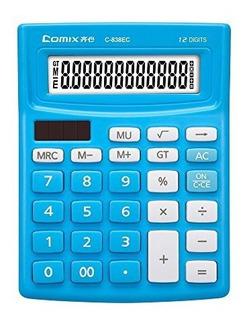 Comix Calculadora, 12 Digitos, Calculadora Para Oficina / E