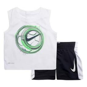 Nike Conjunto 2 Peças Regata Bermuda Esporte Dri Fit
