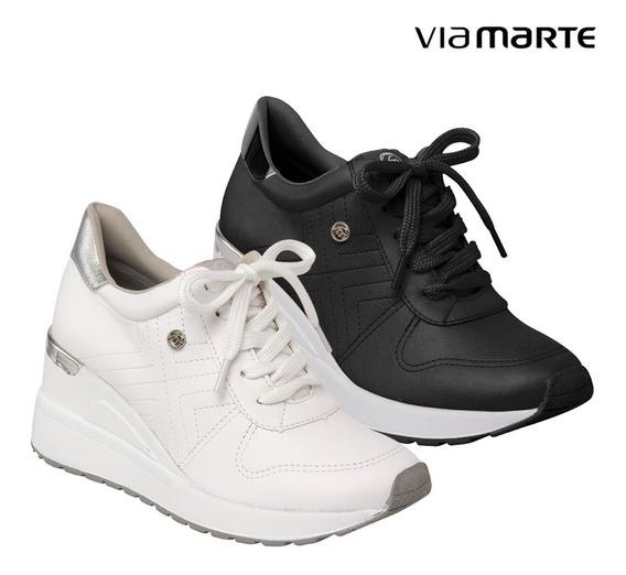 Tenis Feminino Plataforma Via Marte Sneaker Original