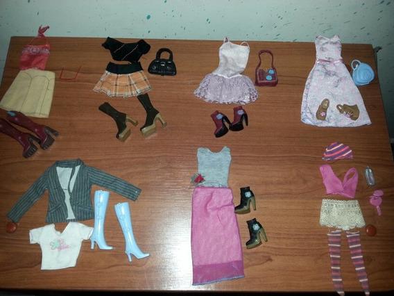 Combos Accesorios Barbie Original, Vestidos Y Conjuntos