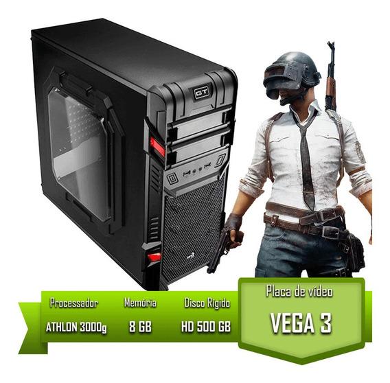 Pc Home Athlon 3000g / 8gb Mem / Hd 500gb Garantia + Nf