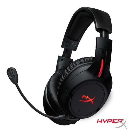 Headset Gamer Hyperx Cloud Flight - Hx-hscf-bk (preto/vermel