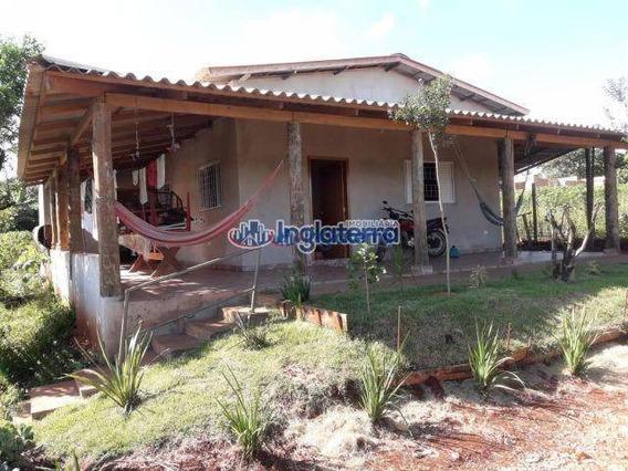 Chácara Com 2 Dormitórios Para Alugar, 1000 M² Por R$ 2.000/mês - Fazenda Nata - Londrina/pr - Ch0016