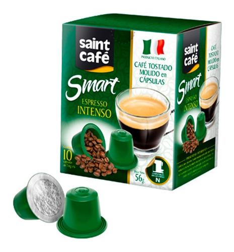 Cápsulas Café Expreso Intenso Saint (10 Cáp.)