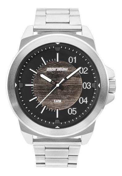 Relógio Mormaii Mo2035jm1m Cinza - Cor: Preto - Tamanho: Úni