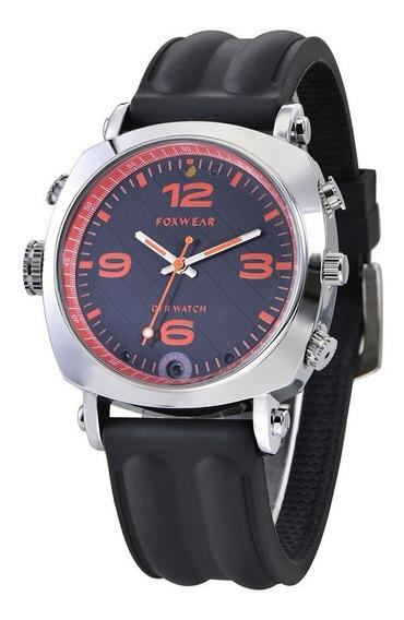 Relógio Espião Multif. / Bússula / Câmera / Wifi Foxwear