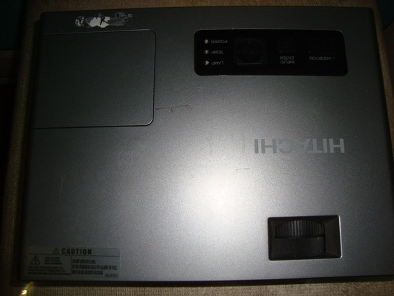 Projetor Hitachi Cp-x253, Funcionando