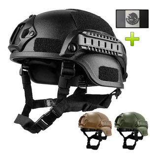 Casco Militar Táctico Gotcha Paintball Airsoft
