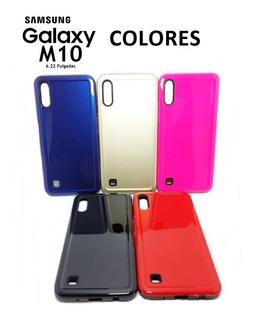 Funda Alto Impacto Lisa Rígida Samsung Galaxy M10 Rosario