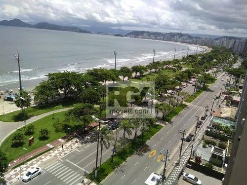 Apartamento À Venda, 160 M² Por R$ 730.000,00 - Aparecida - Santos/sp - Ap7534