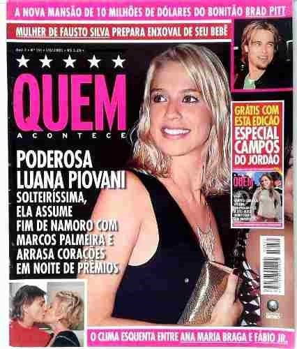 Revista Quem 151/2003 - Xuxa/luana/marquezine/jagger