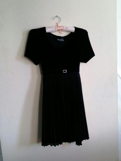 Vestido De Fiesta Tipo Coctel Damas Talla M Color Negro