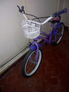 Bicicleta Usada Niña