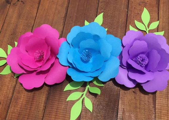 Flores De Papel Hawaianas