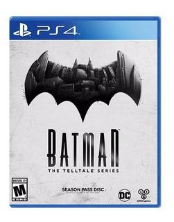 Batman The Telltale Series Disco Fisico Sellado Para Ps4