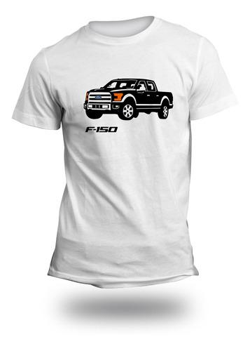 Imagen 1 de 4 de Playera Auto Ford F150 2014 Faros Brillan En La Oscuridad