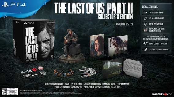 The Last Of Us 2 Collector Edition Ps4 *leia*