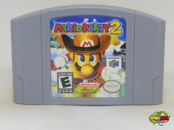 Mario Party 2 Nintendo 64 Novo N64