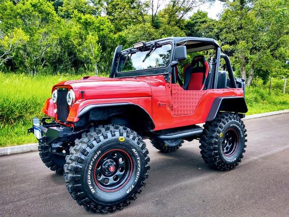 Jeep Willys Cj5 Diesel - Leia O Anuncio