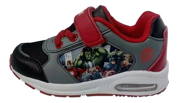 Zapatillas Avengers Vengadores Marvel Con Luces Funny Store