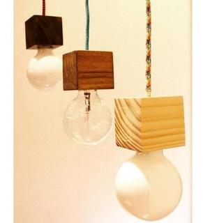 Lámpara Colgante Cubito