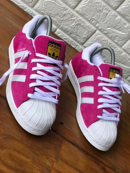 Tênis adidas Super Star Original Camurça Feminino Masculino