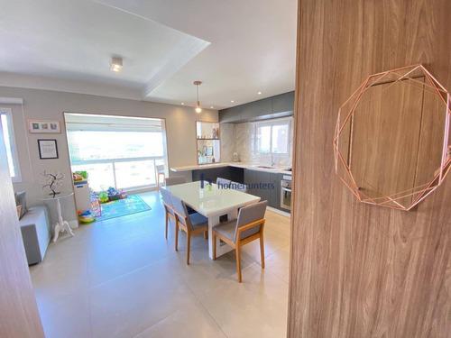 Apartamento  3 Dormitórios À Venda, 94 M² Por R$ 950.000 -talipo Exclusive Club- Rua Luís Otavio 2245-parque Rural Fazenda Santa Cândida - Campinas/sp - Ap6829