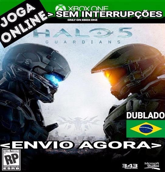 Halo 5 Guardians Halo5 Xbox One Online Digital Original Ptbr
