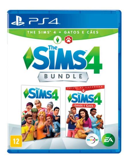 Jogo The Sims 4 Cães E Gatos Ps4 Playstation Midia Fisica Lacrado Br Promoção