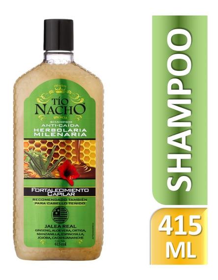 Tío Nacho Shampoo Herbolaria Milenaria X 415ml