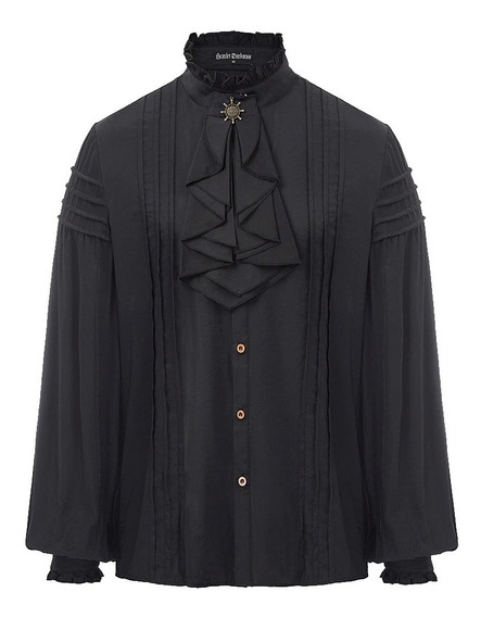 Camisa Estilo Medieval, Gótica (fibra De Bamboo)