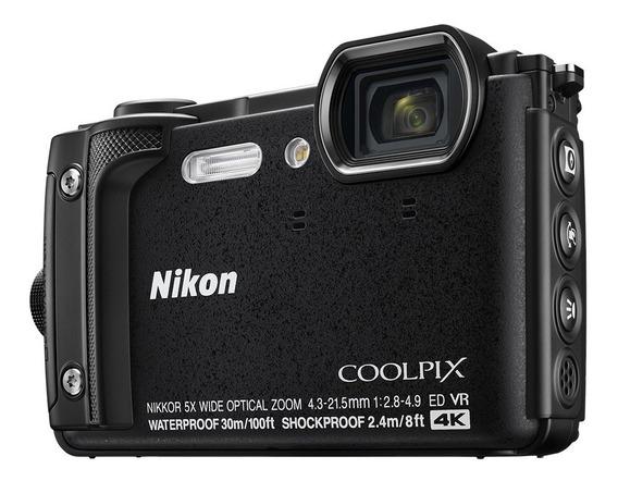 Câmera Nikon Coolpix W300 16mp Prova D Agua Gps Wifi 4k