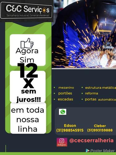 Imagem 1 de 5 de Serviço De Serralheria