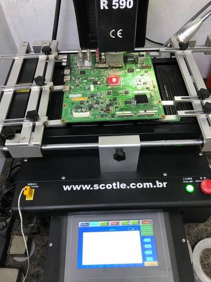 Retorno Placa Principal Lg Xxle5500 Ld650 Serviço Executado