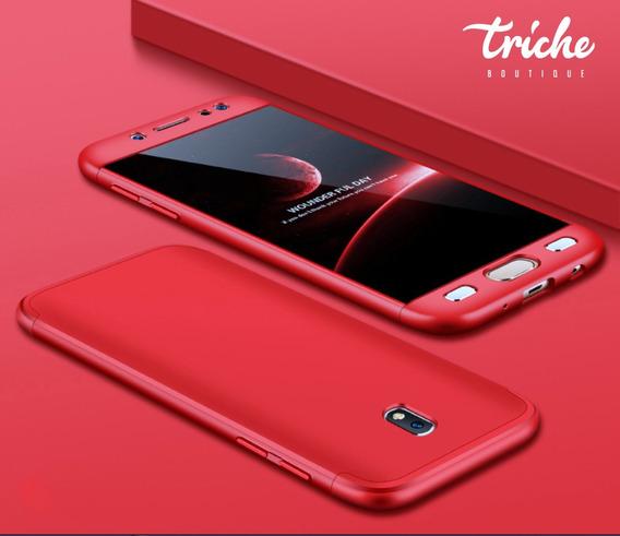 Funda 360 + Cristal Slim Colores Seria Galaxy J7 Pro J730