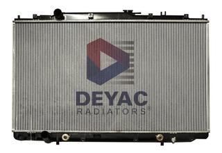 Radiador Honda Odyssey 2001 Deyac T/a 16 Mm