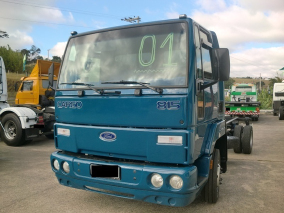 Ford Cargo 815 Ano 2001/2001 No Chassi