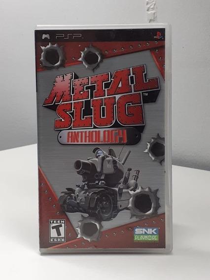 Metal Slug Anthology Psp Original Americano Semi Novo