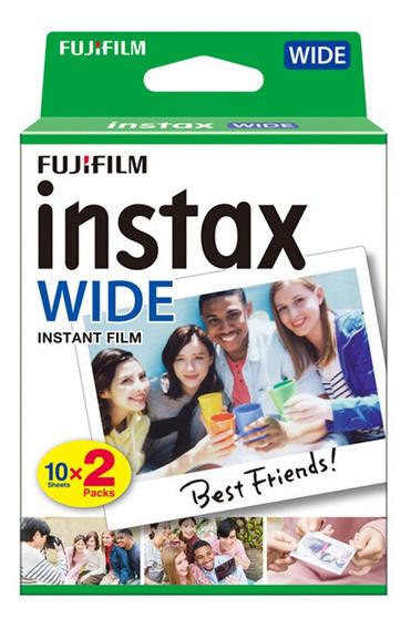 Fujifilm Instax Wide Camera Instant Film Papel Fotográfico P