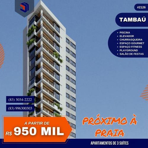 Imagem 1 de 15 de Apartamento Para Venda Em João Pessoa, Tambaú, 3 Dormitórios, 3 Suítes, 3 Banheiros, 2 Vagas - 2126_1-1964191