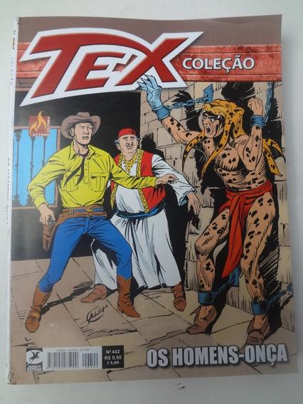 Gibi Tex Coleção N° 442 Os Homens - Onça