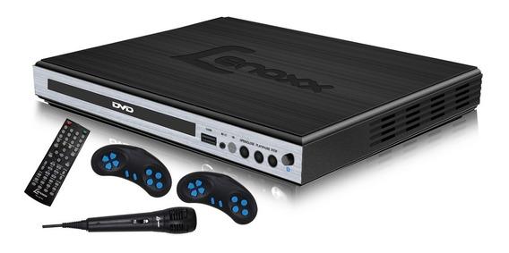 Dvd Player Lenoxx Dk420 Karaokê Usb Microfone Bivolt