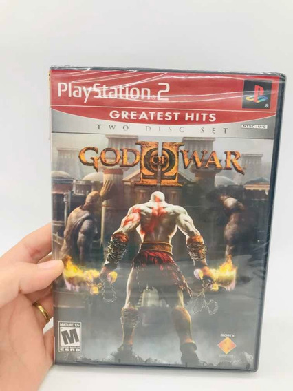 God Of War 2 Greatest Hits Ps2 Original-novo